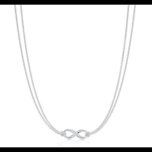 5efd81a9c Tiffany & Co. Jewelry | Tiffany Co Infinity Necklace | Poshmark
